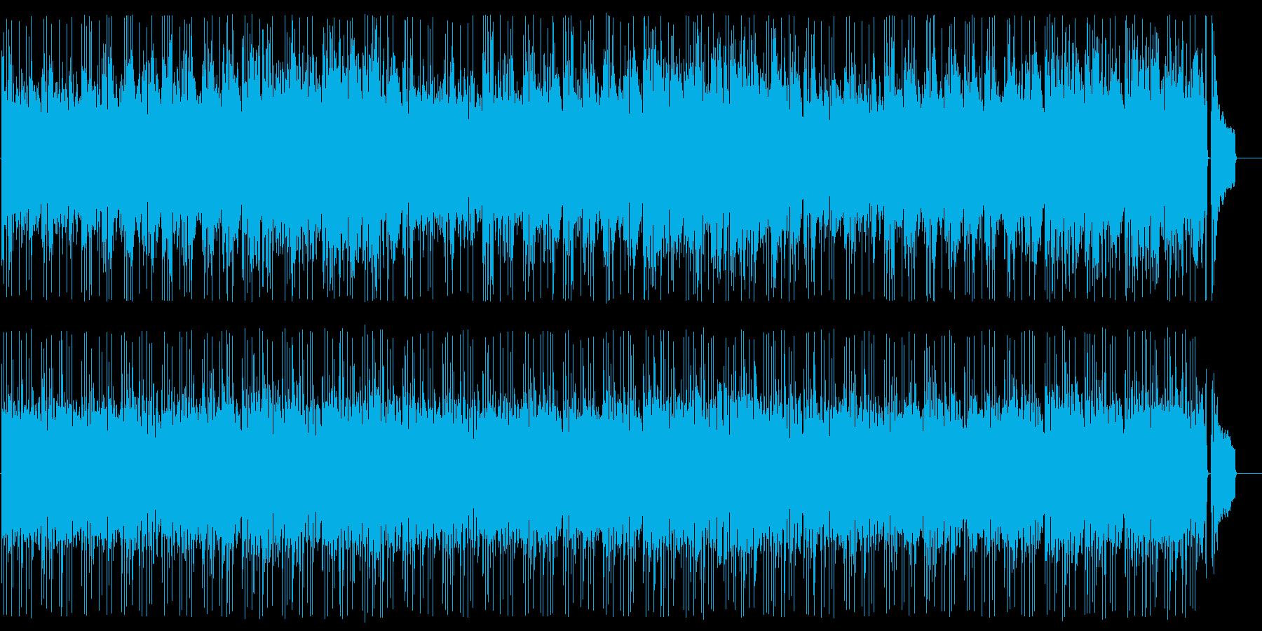 ゆったりとした日常感のあるポップスの再生済みの波形