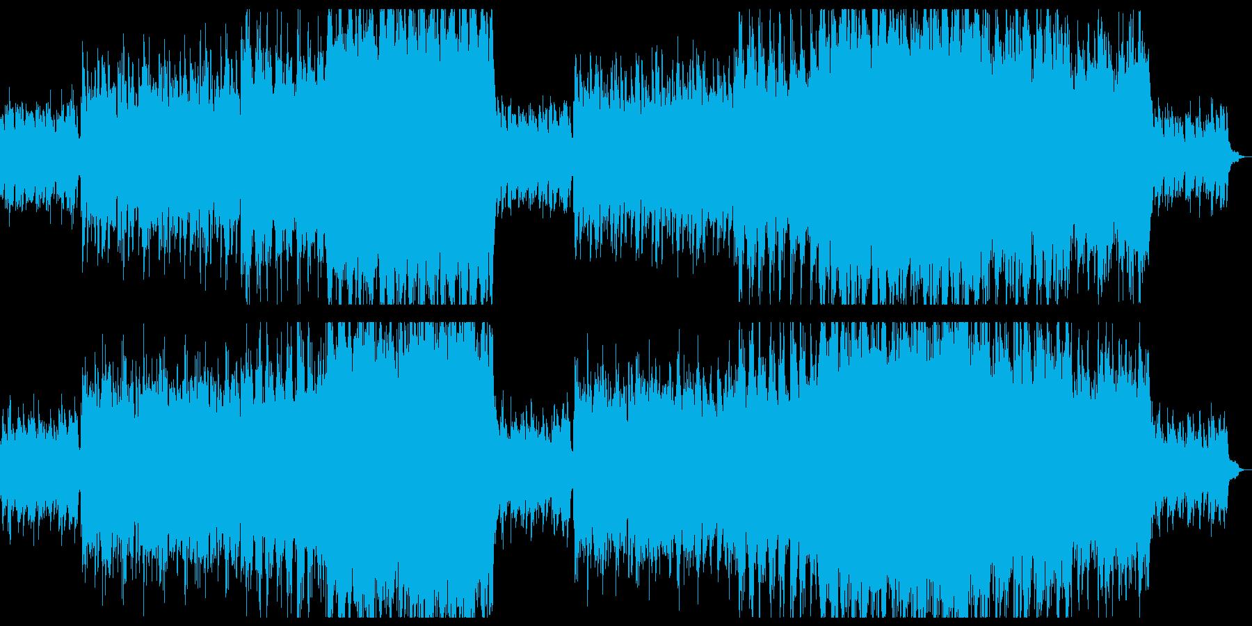 爽やかな感動系シンフォニックチルアウト。の再生済みの波形
