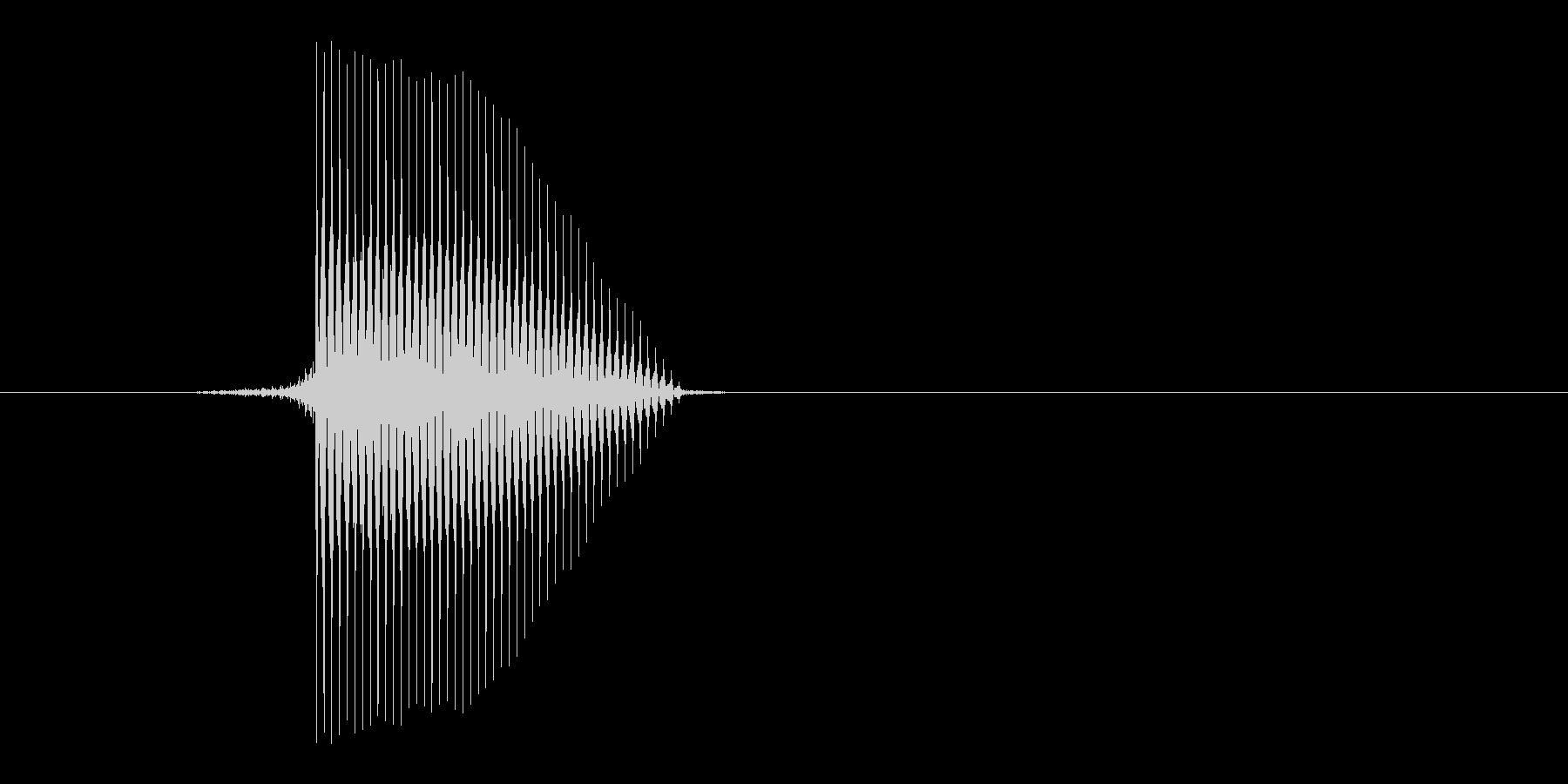ゲーム(ファミコン風)セレクト音_003の未再生の波形