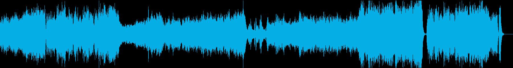 ゲームのオープニングや映像用オーケストラの再生済みの波形