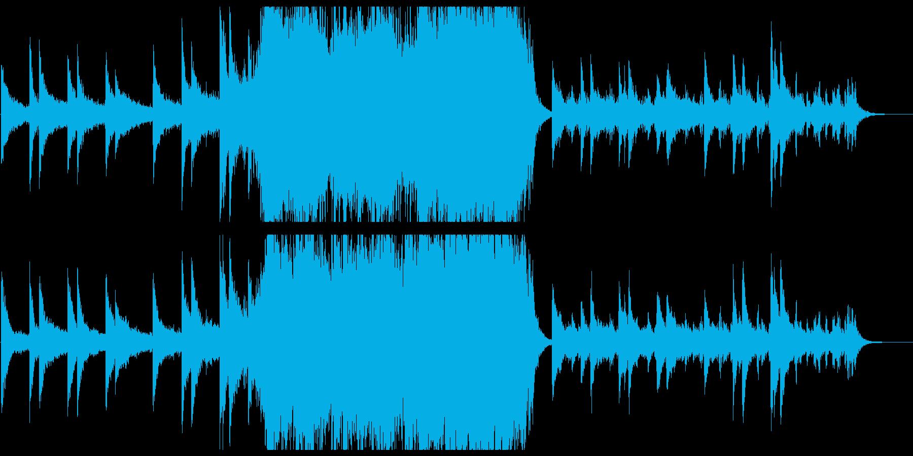 エンディング感のあるポップオーケストラの再生済みの波形