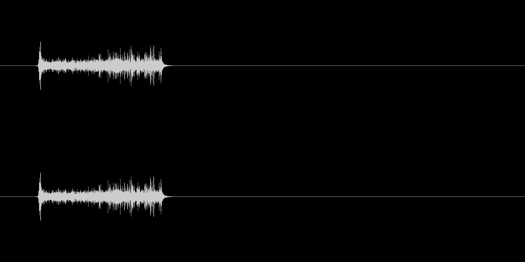 【カメラ フォーカス01-3】の未再生の波形