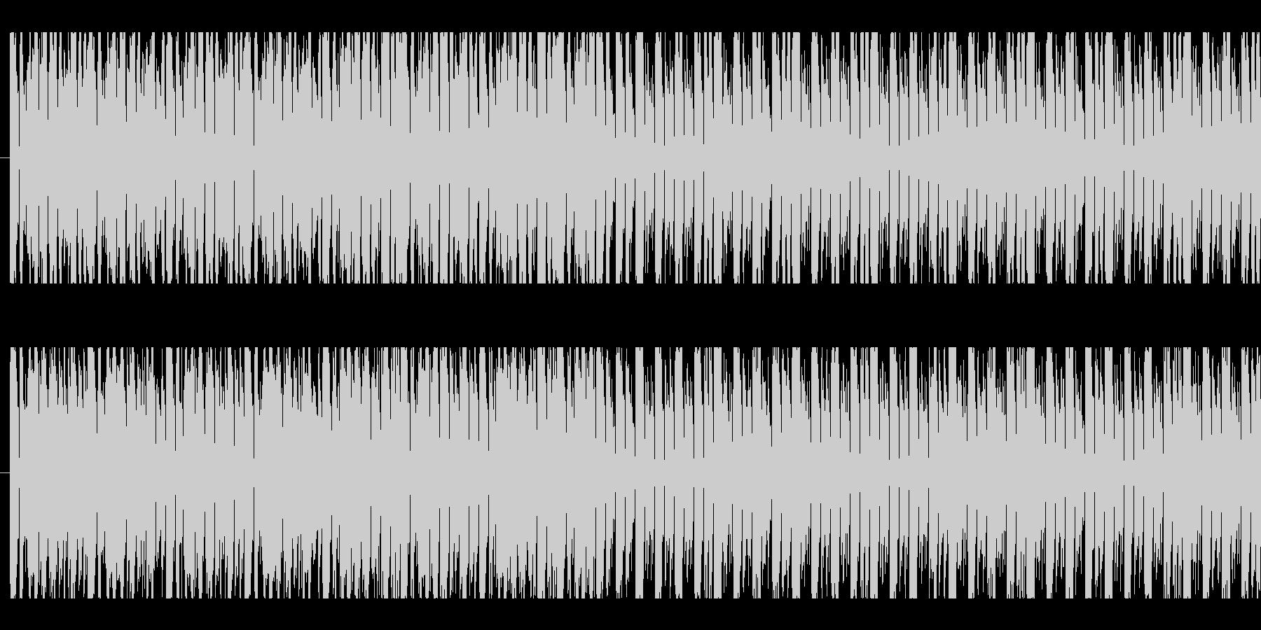 ディスコ、エレクトロ、ループの未再生の波形