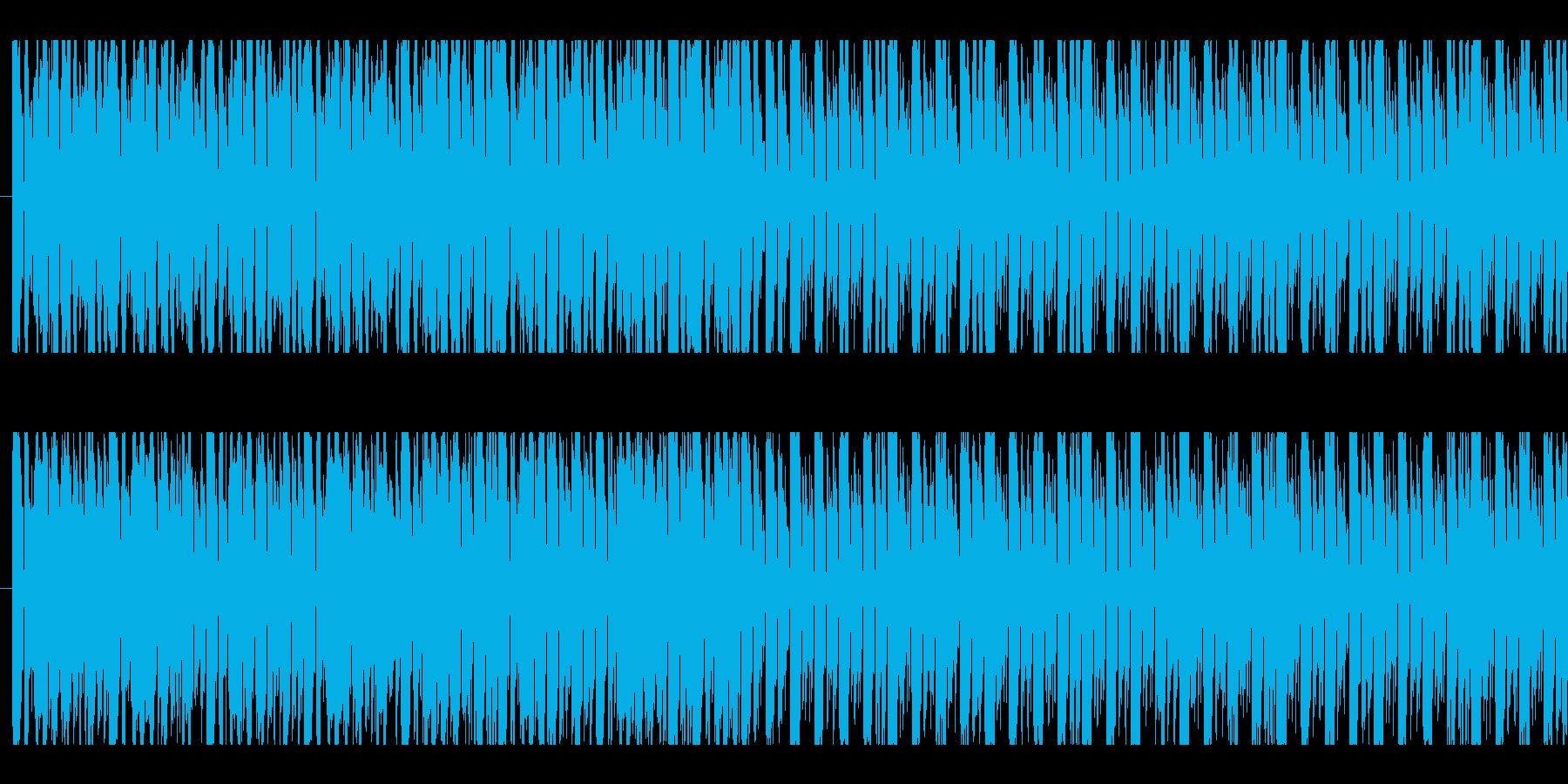 ディスコ、エレクトロ、ループの再生済みの波形