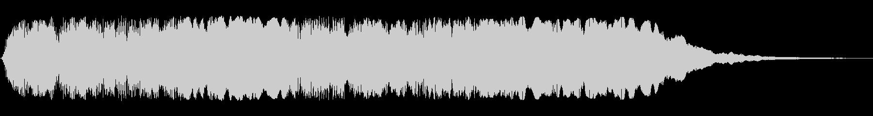 タタタタンタンターンという効果音の未再生の波形