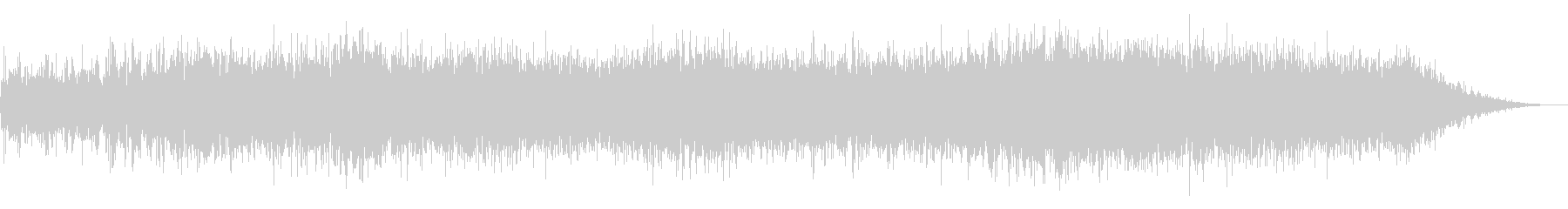 ホラー映画に出てきそうなノイズ系音源15の未再生の波形