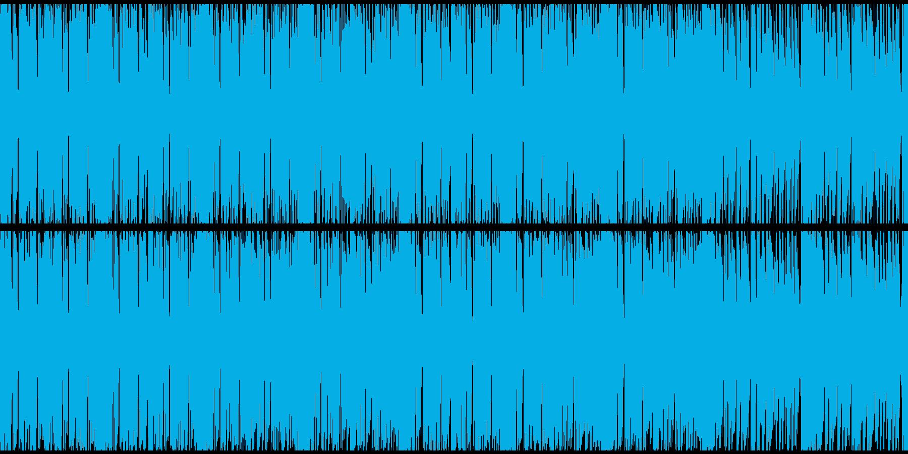 ループ:疾走感溢れるEDMの再生済みの波形