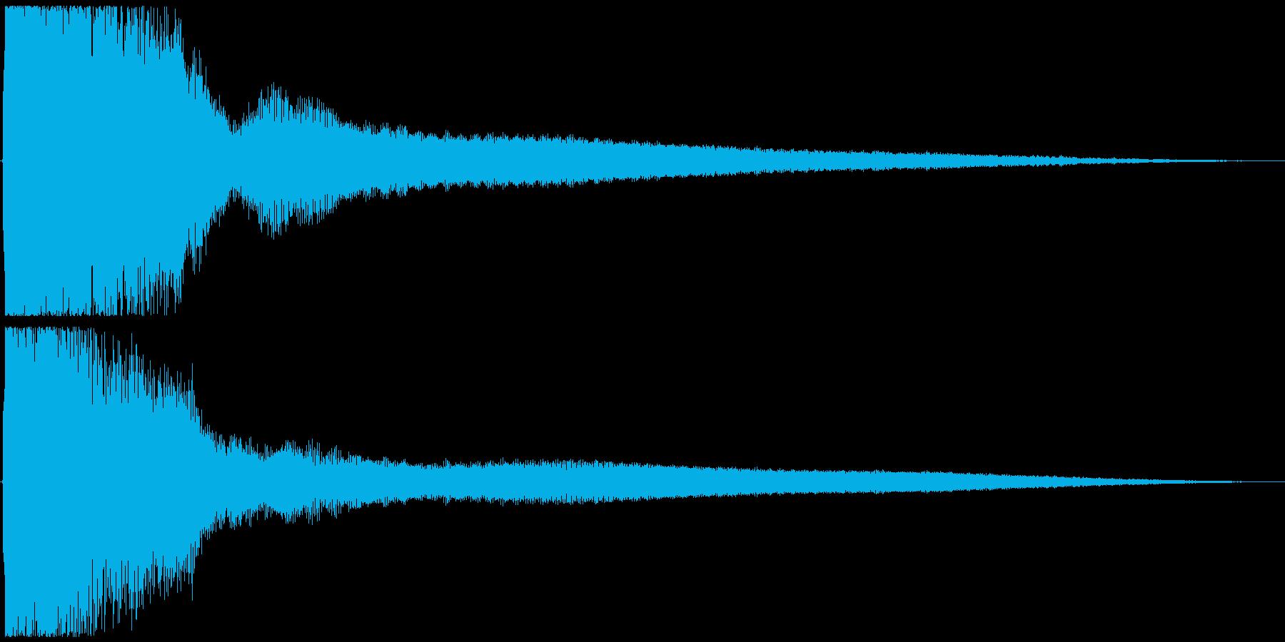 中華風 パイーン!の再生済みの波形