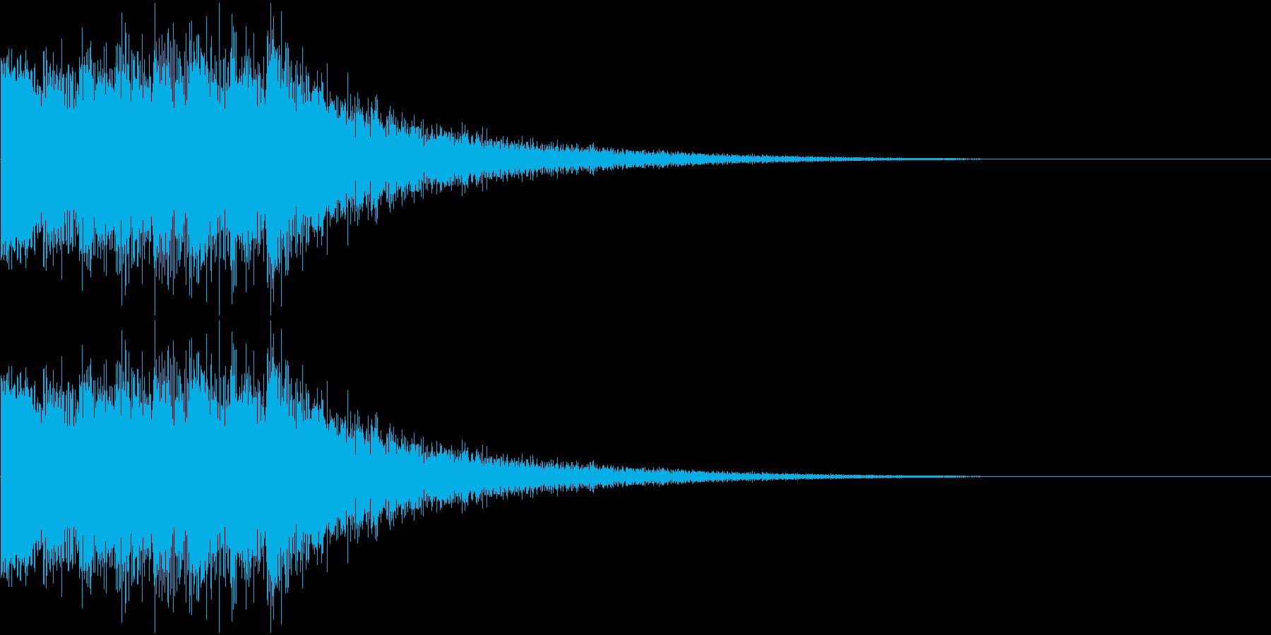 キンコンカンコン☆のど自慢の合格音の再生済みの波形