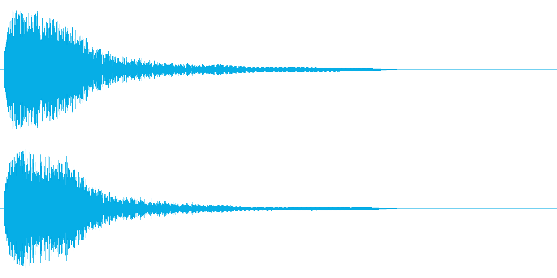 フワフワフワワン~の再生済みの波形