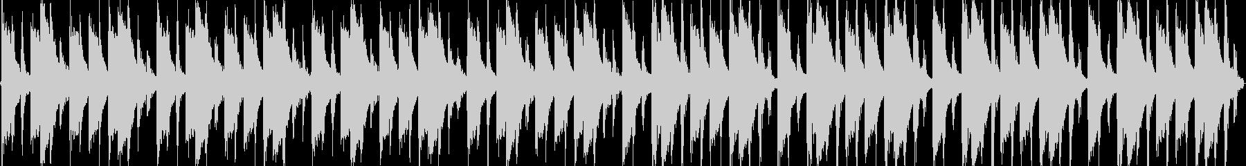 ラテンなリズムループですの未再生の波形