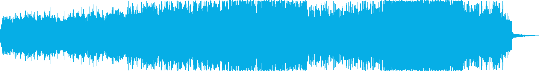 鮮やかで幻想的な映像、CMにの再生済みの波形