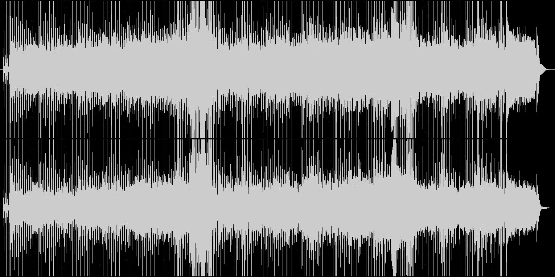 出撃する前のシーン用ロック生演奏の未再生の波形