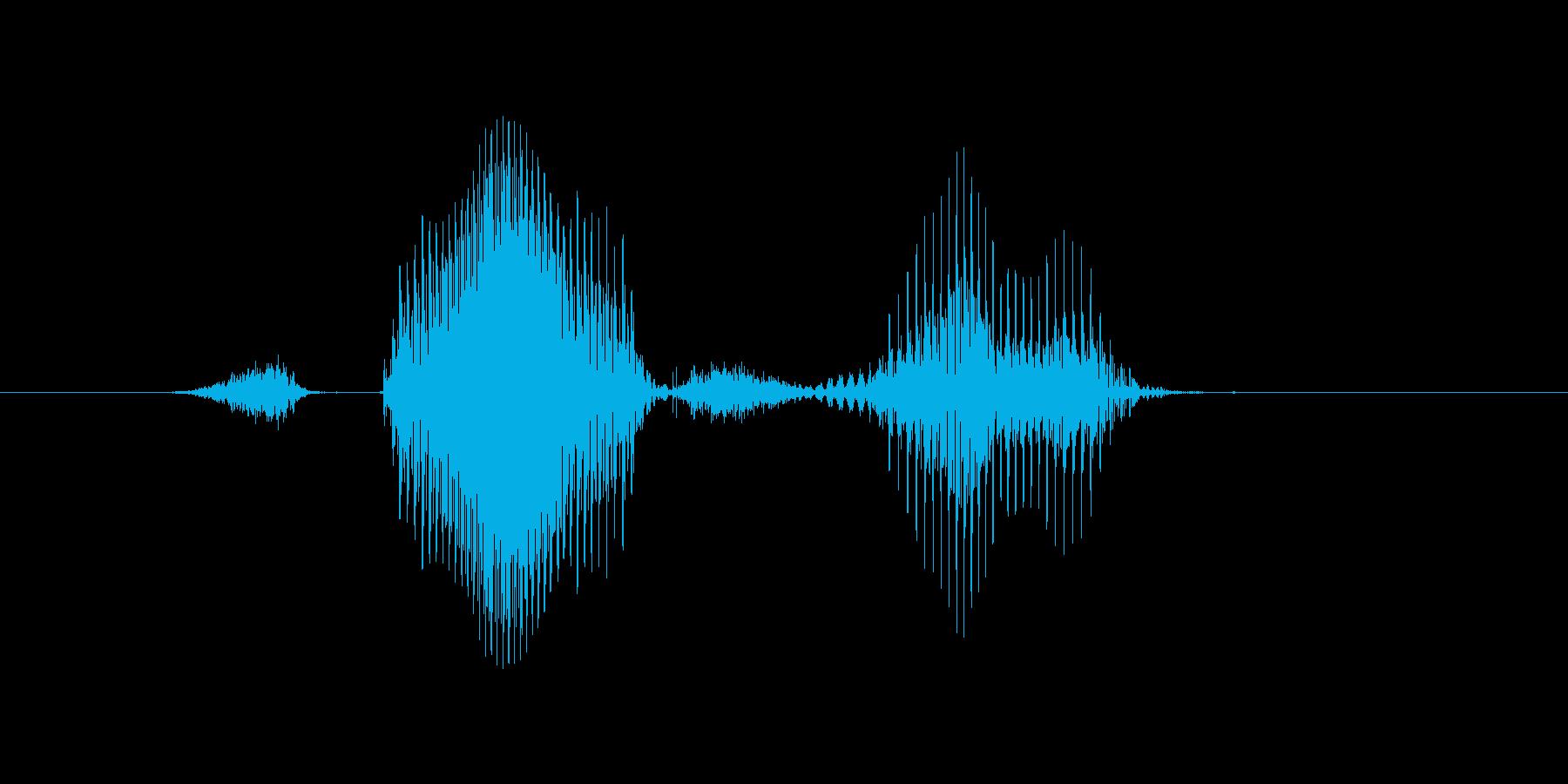 ステージ7(なな)の再生済みの波形