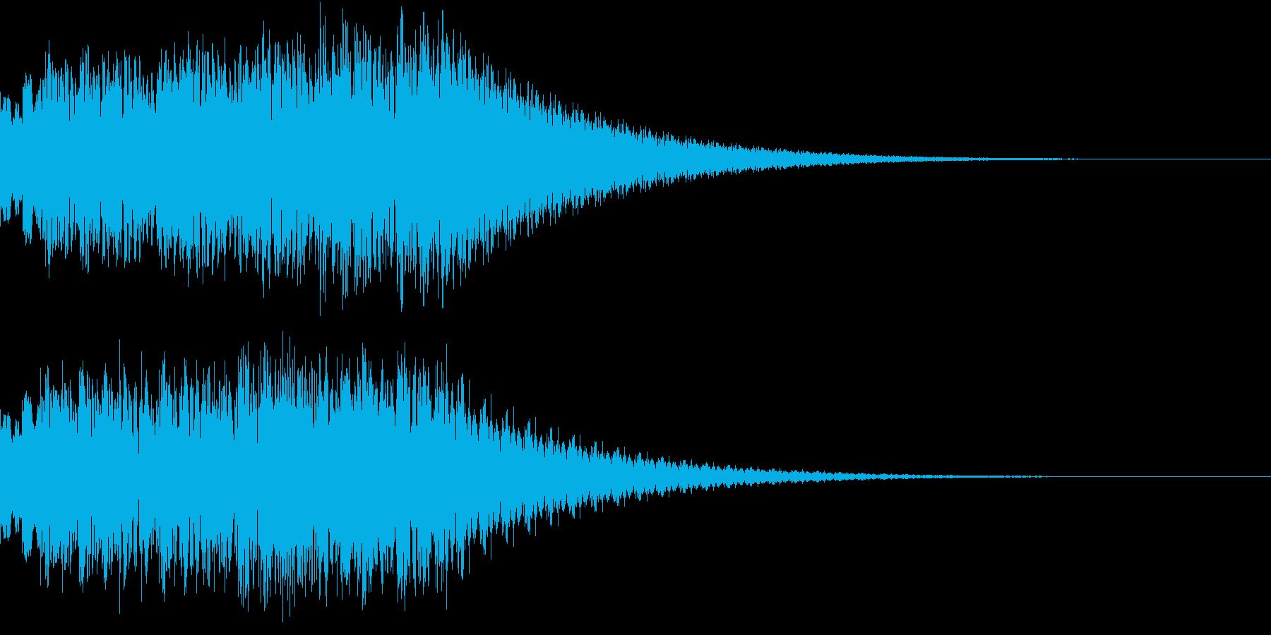 TVFX ビヨーンとヘンテコなSE 6の再生済みの波形
