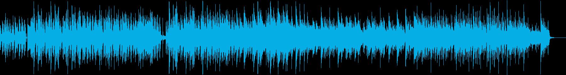 ほのぼのとしたボサノバ調のpopsの再生済みの波形