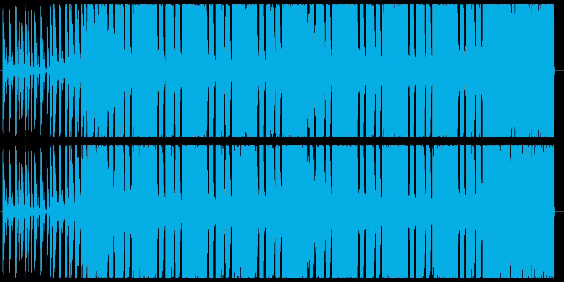 30秒ヘヴィギター&ダウンビート②の再生済みの波形