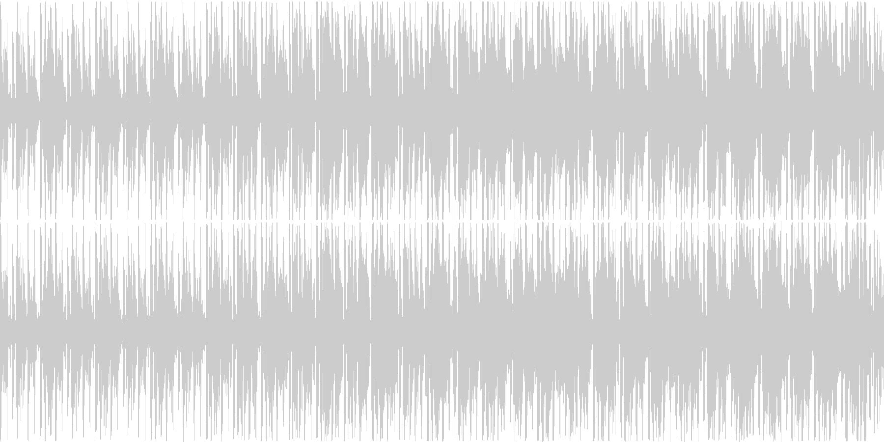 ギターが渋いAcid Jazz(ループ)の未再生の波形