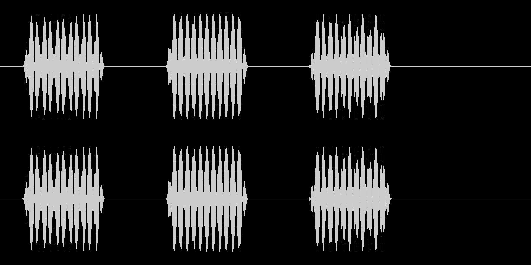 ポピポ (研究や医療に適した効果音)の未再生の波形