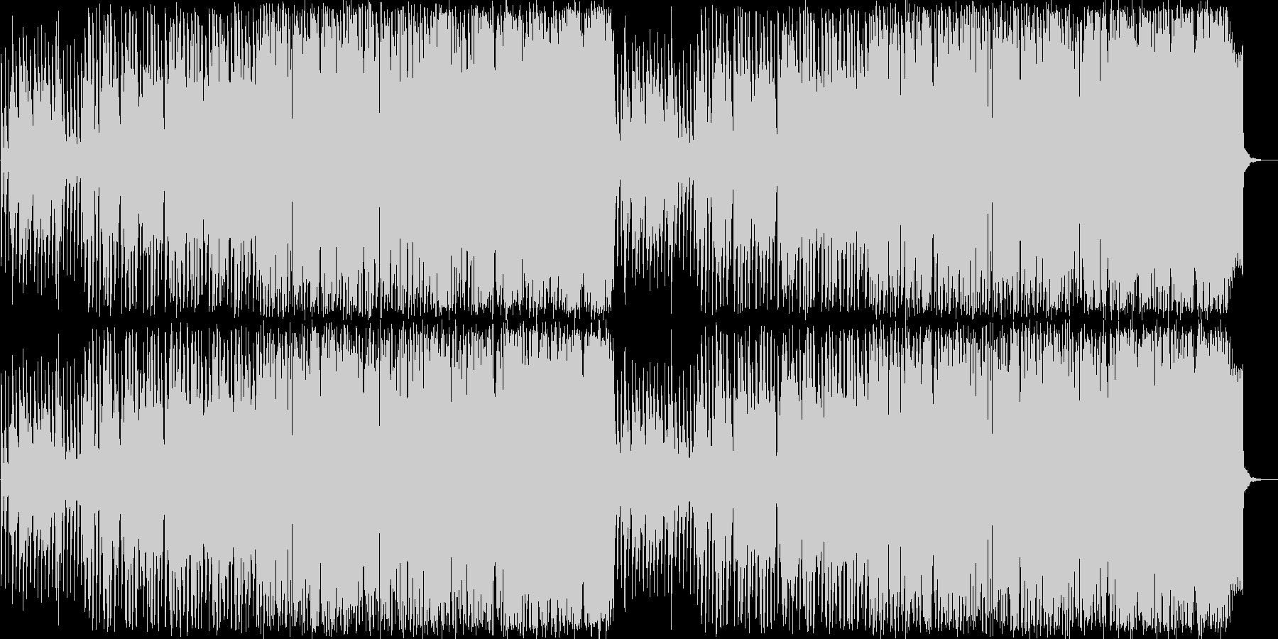 さわやかなApple的BGMの未再生の波形