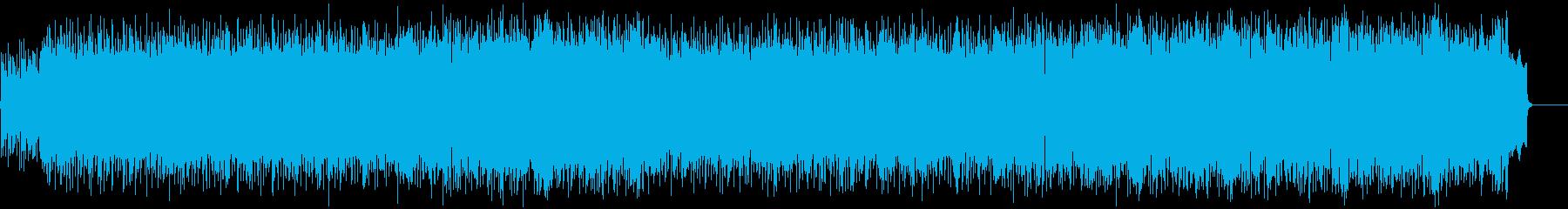 力強い歌謡曲風ポップス(フルサイズ)の再生済みの波形