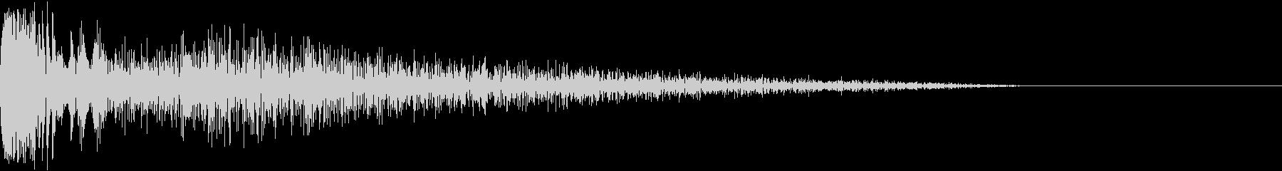 DTM Snare 4 オリジナル音源の未再生の波形