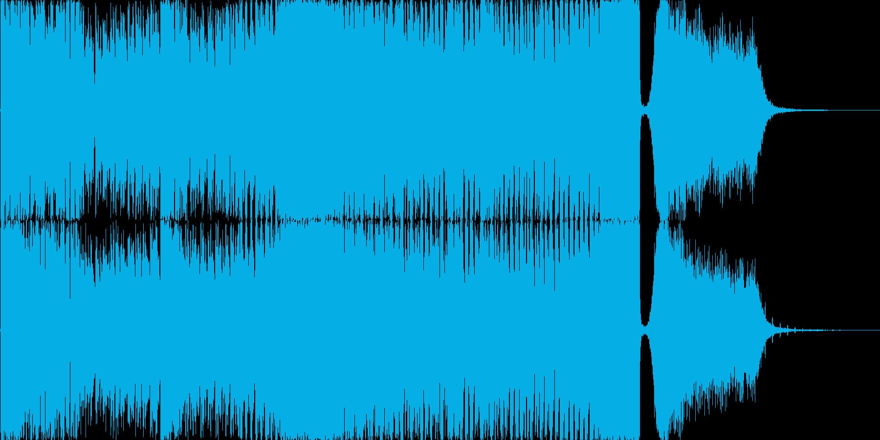 アイドル_バラエティ_出囃子BGMの再生済みの波形