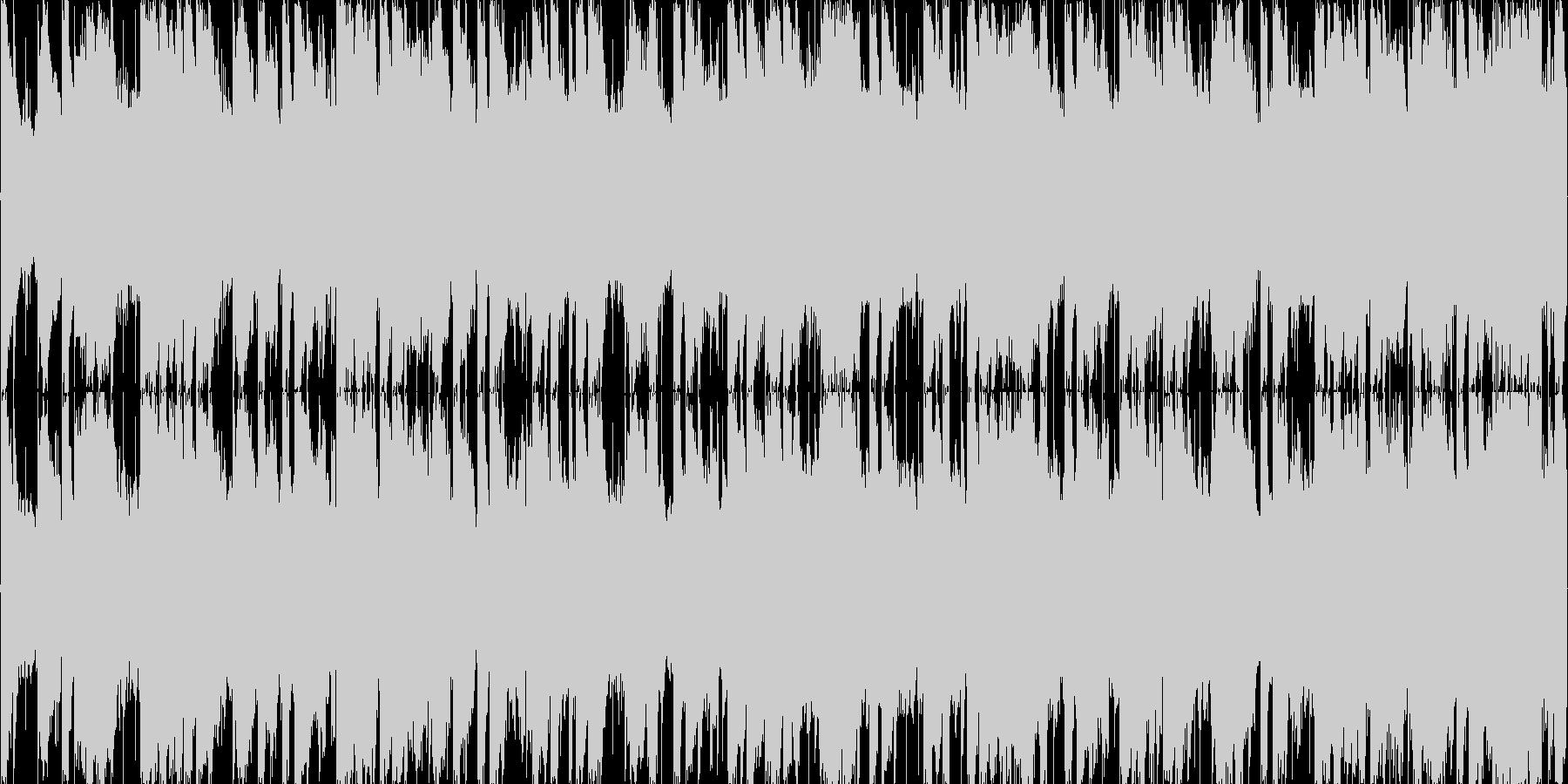 MOTIF XSの美しいエレクトリック…の未再生の波形