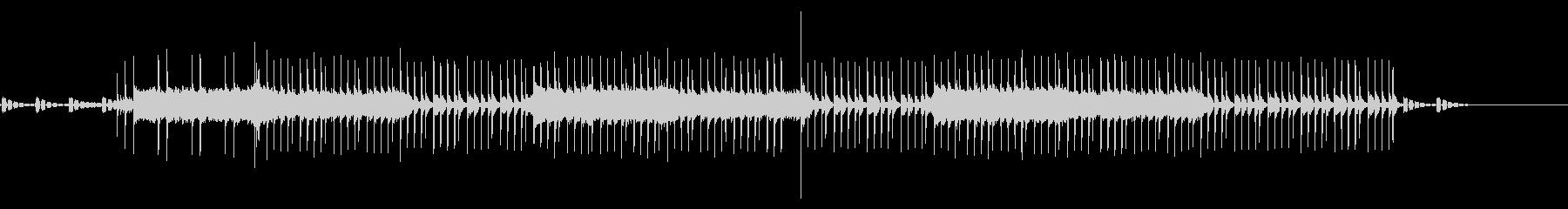 機械をイメージした曲/近未来の未再生の波形
