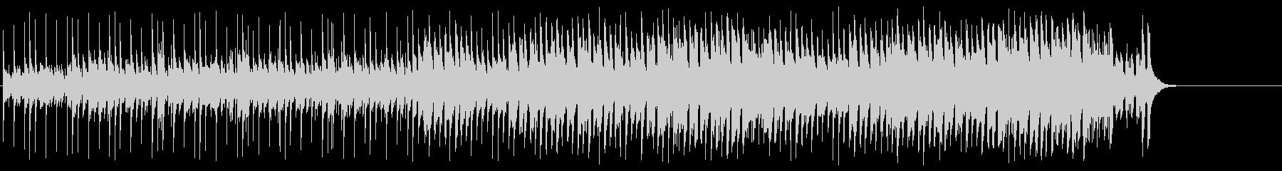 おどけた軽快なポップ(A~サビ~エンド)の未再生の波形