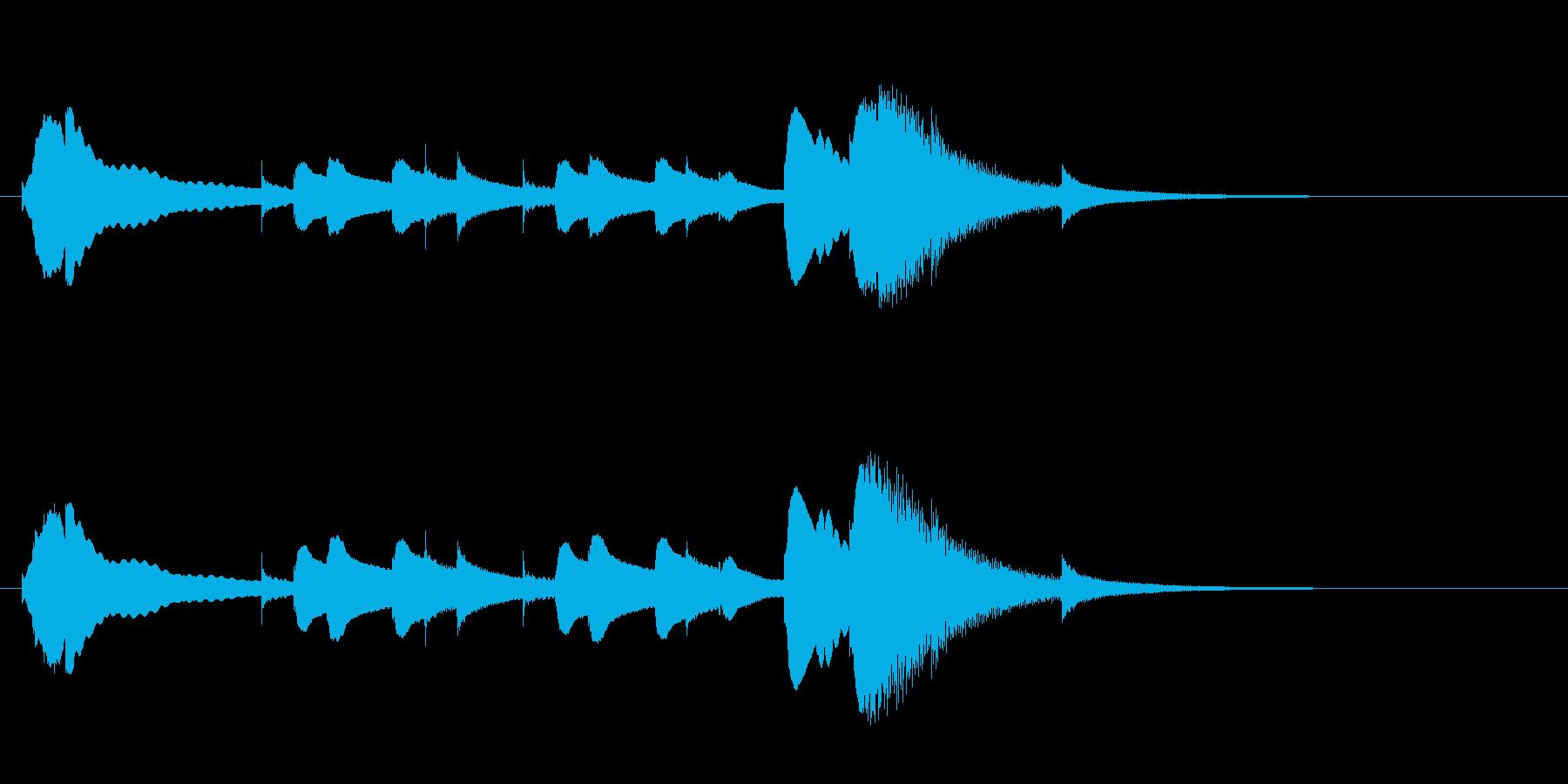 オルゴールジングル ドビュッシーの再生済みの波形