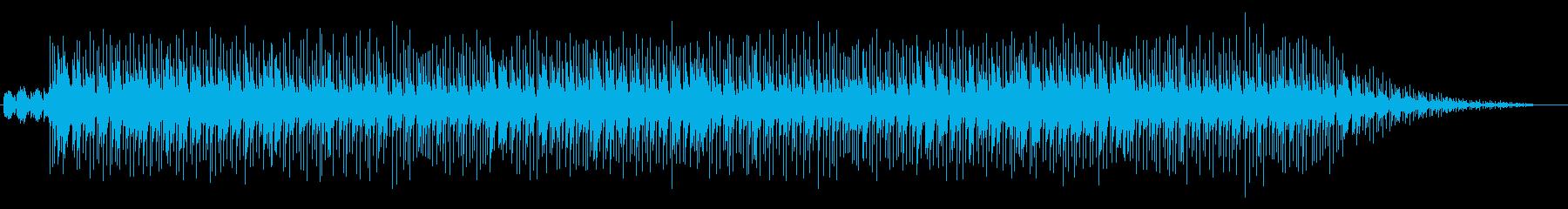 三拍子のイージーリスニングの再生済みの波形