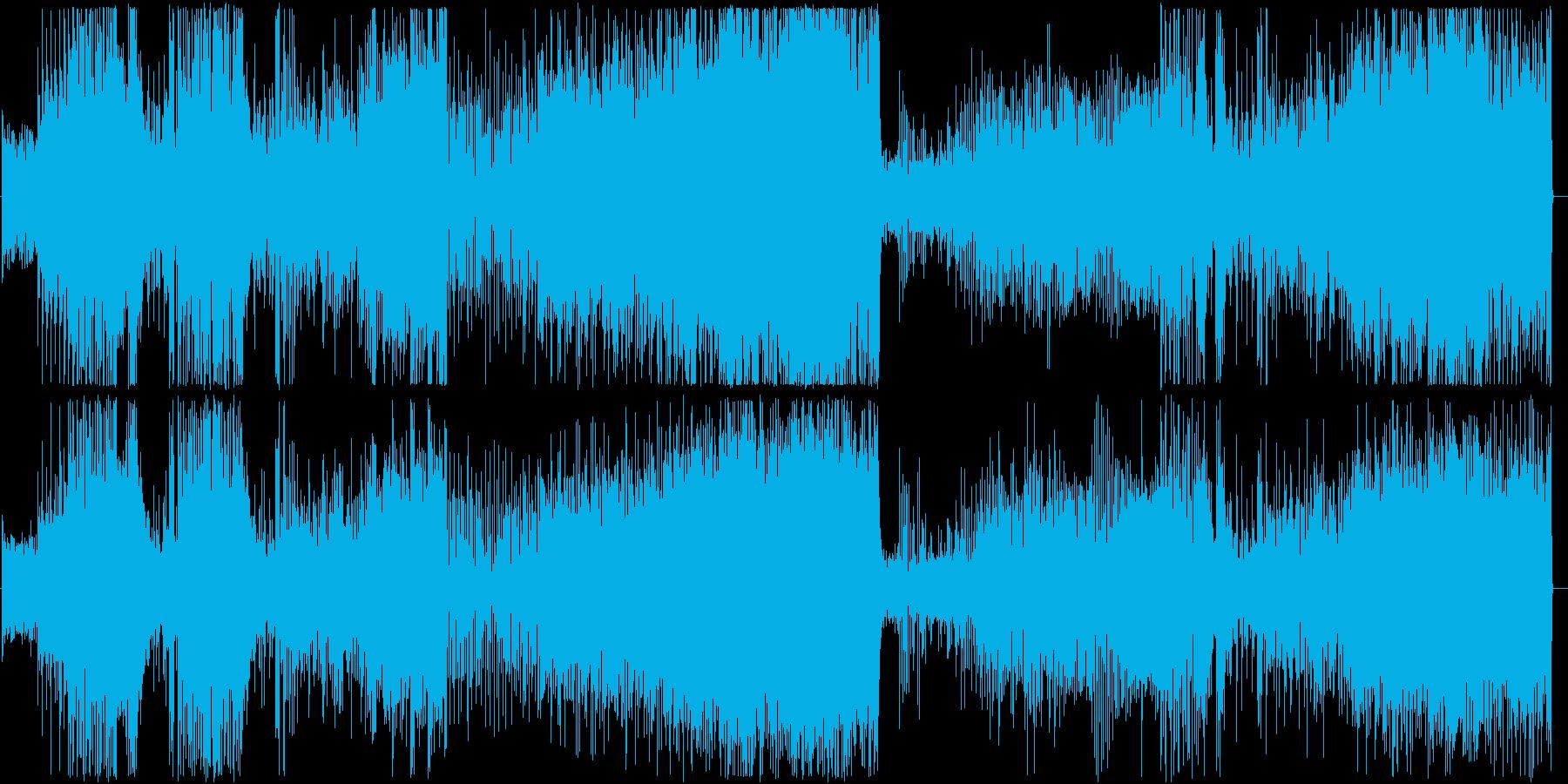闘志あふれる変拍子ジャズの再生済みの波形