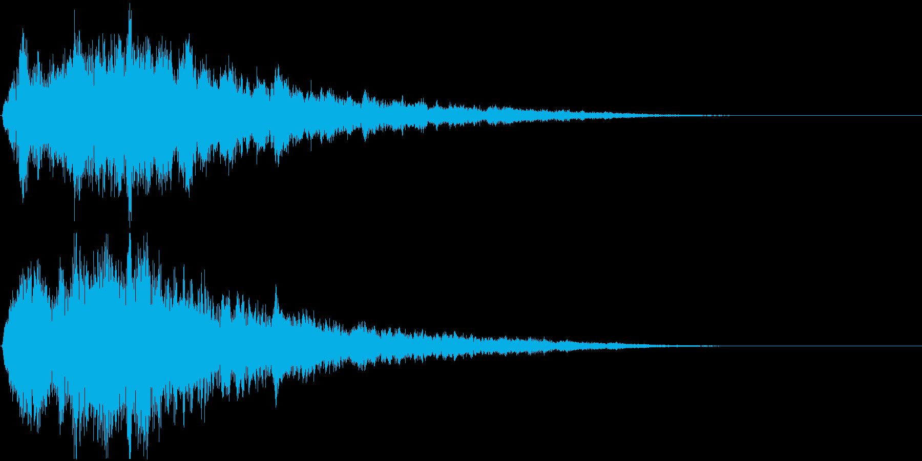 SE 2120年の宇宙船 シュワーンの再生済みの波形