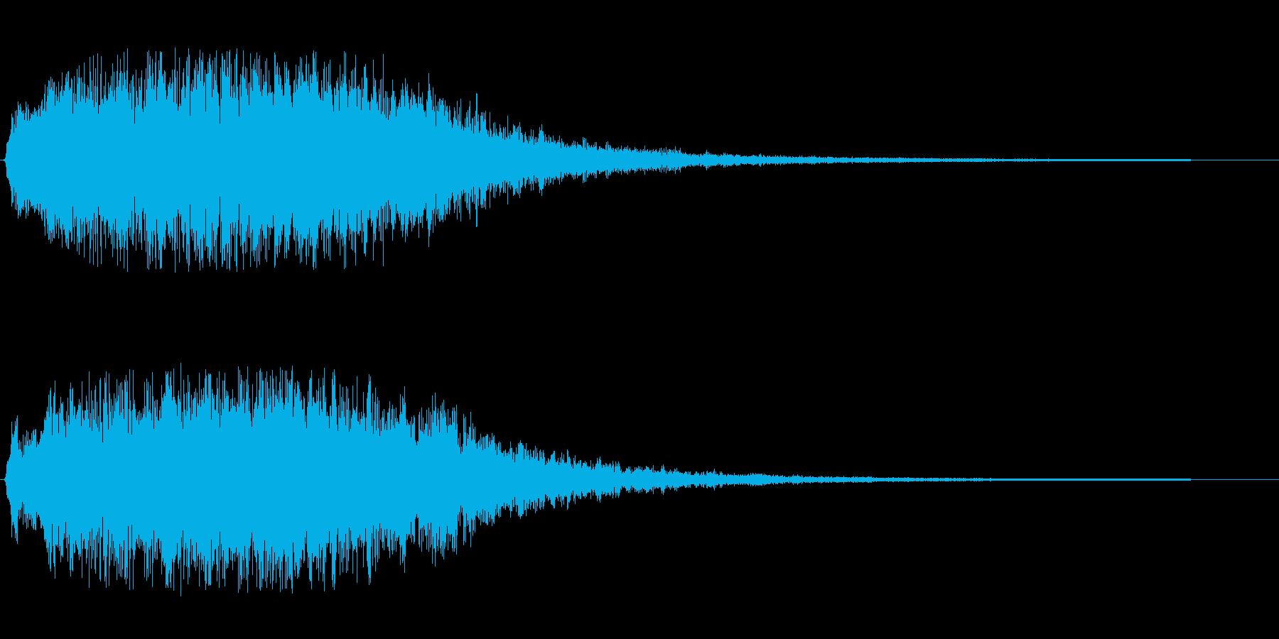 トゥルリラリララン(ジングル向きの音源)の再生済みの波形