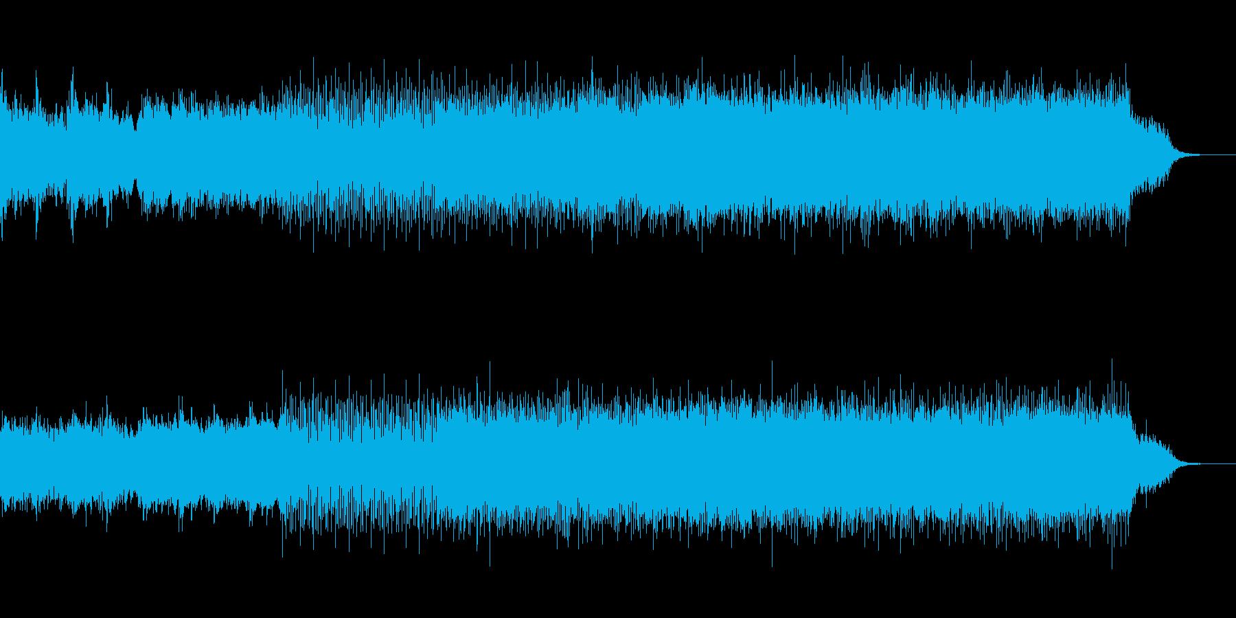 ノイジーなエレクトロの再生済みの波形