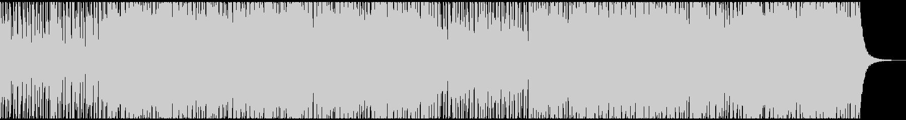 ファンキーなギターインストの未再生の波形