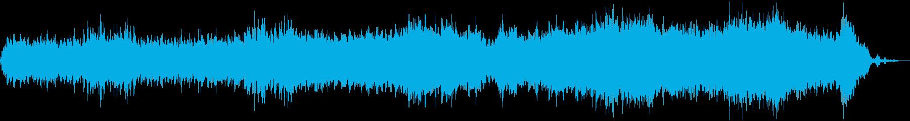 幻想的な癒し系バラードの再生済みの波形