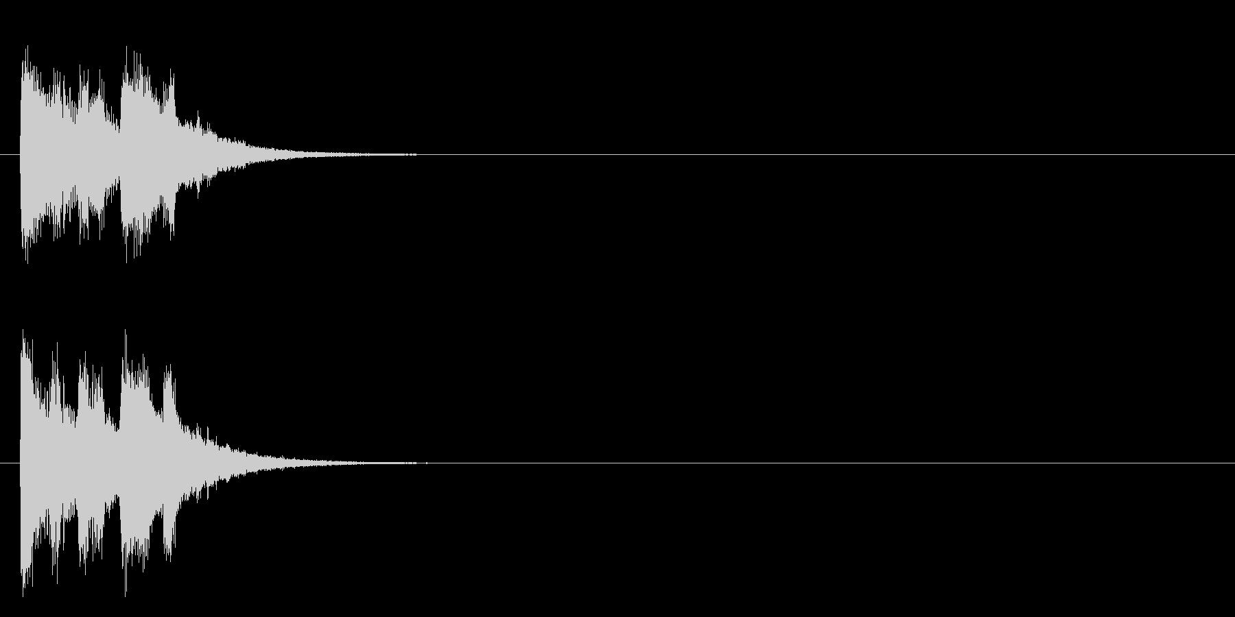 イベント CM アタック 情報 店内の未再生の波形