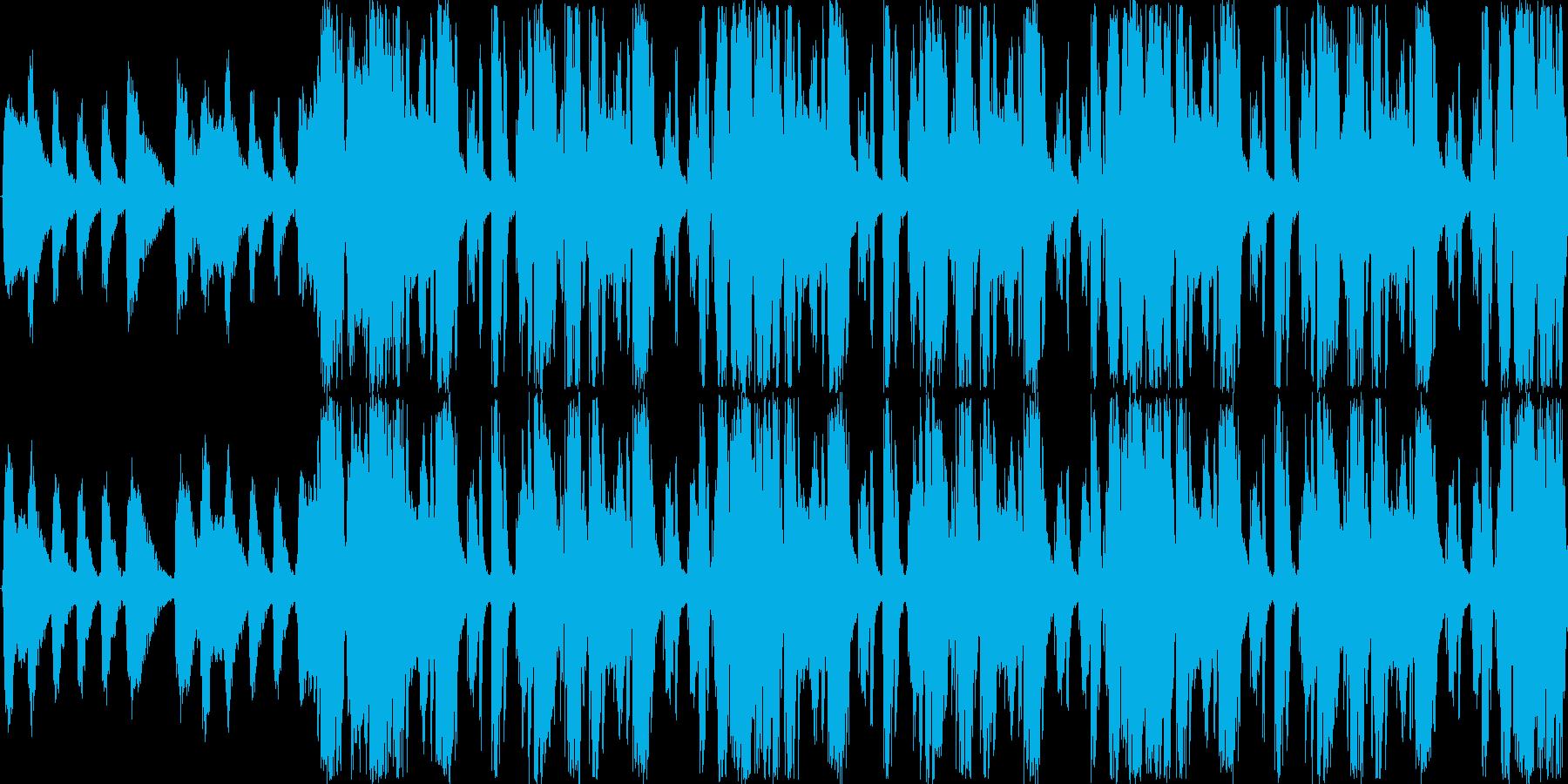 【ストリングス/ヒップホップ】の再生済みの波形