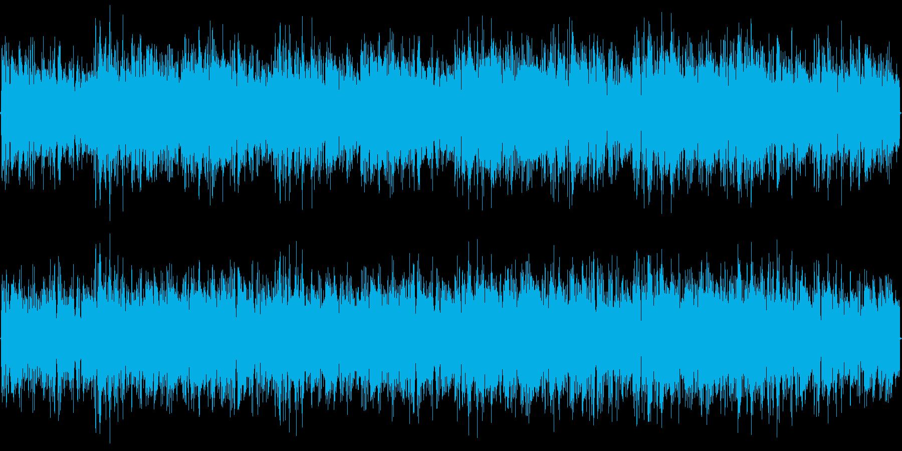 パワフルトランスの再生済みの波形