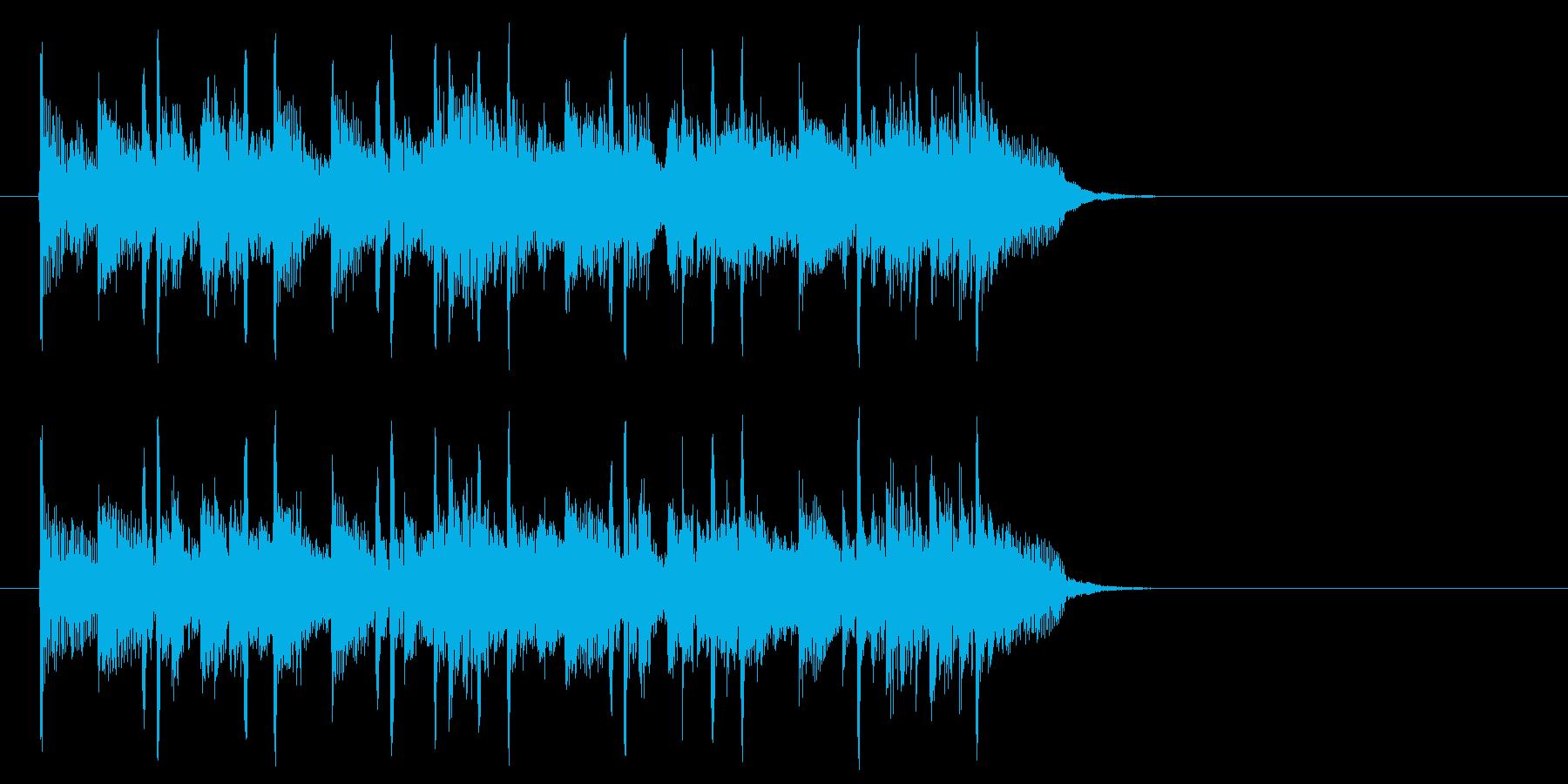夢に向かう前向きポップ(Aメロ)の再生済みの波形