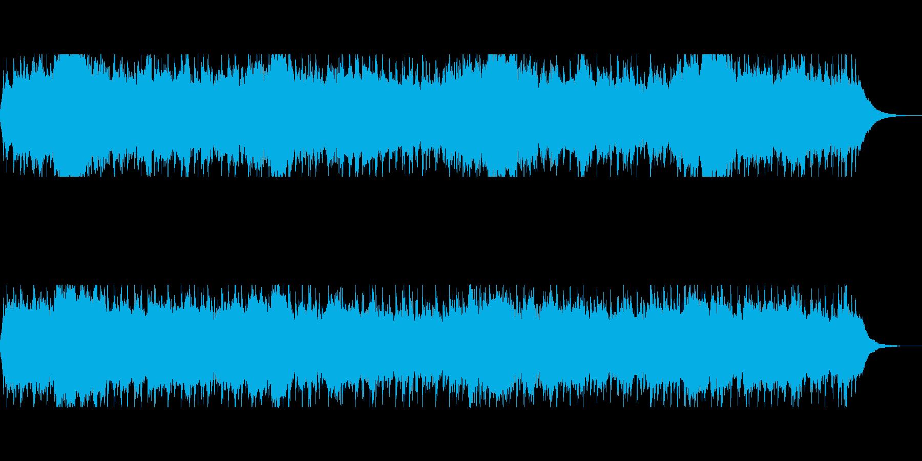 天気予報のBGMにの再生済みの波形