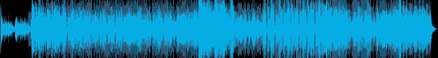 春に聴くテクノポップの再生済みの波形