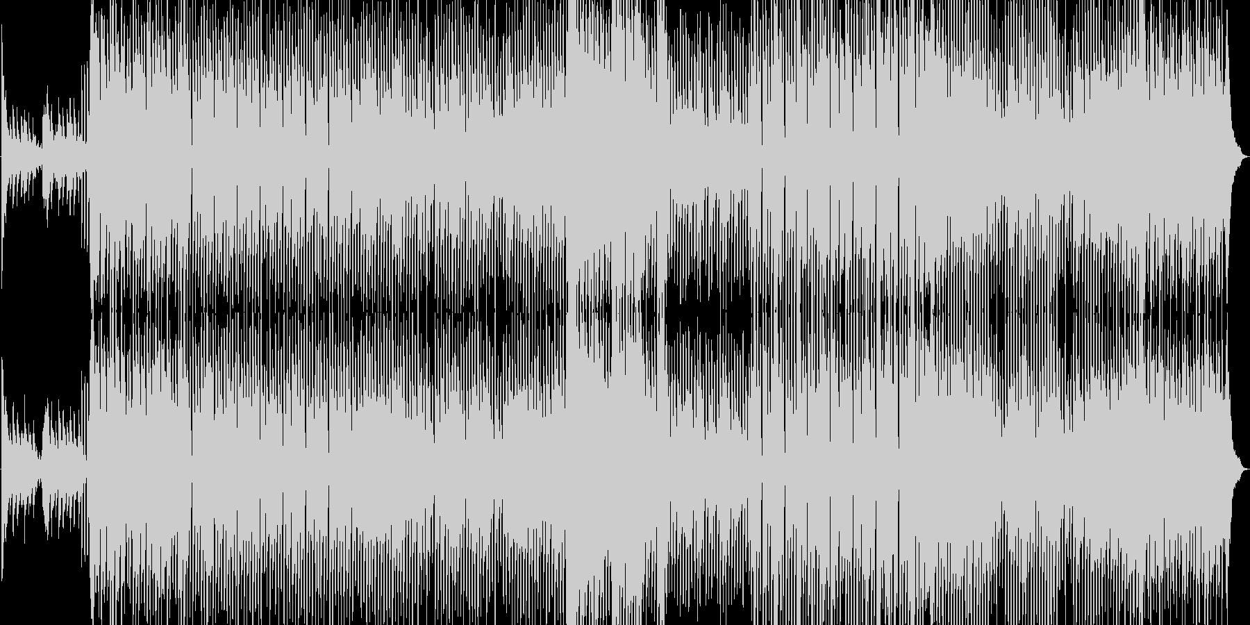 春に聴くテクノポップの未再生の波形