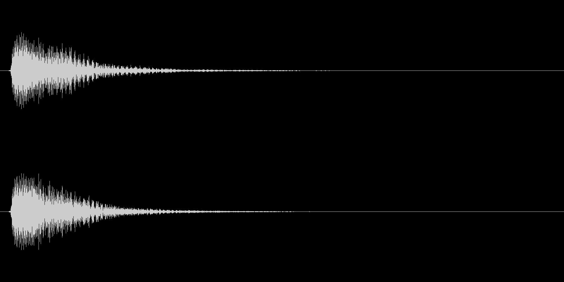 アプリ・ゲームの決定音_006の未再生の波形