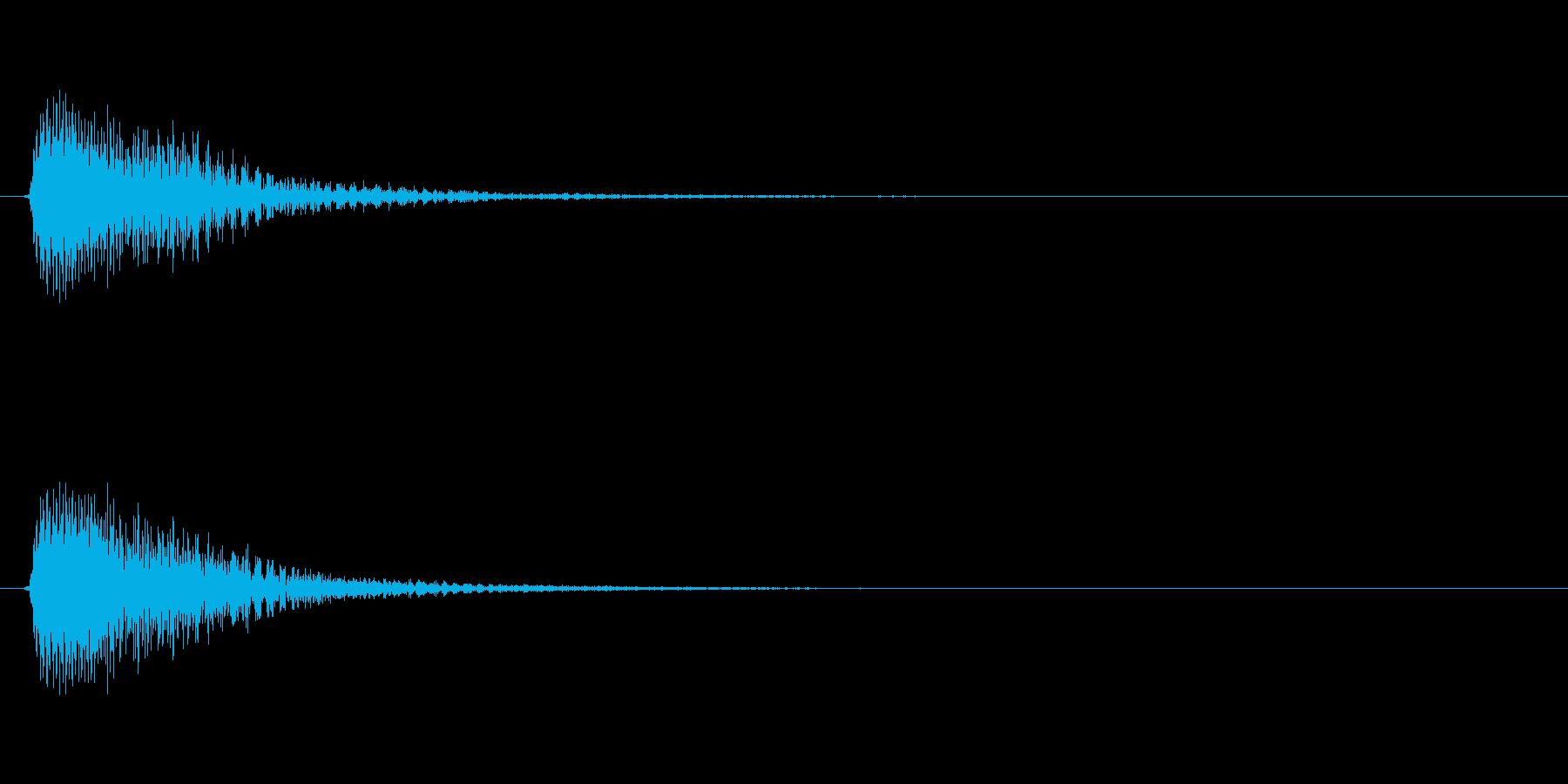 アプリ・ゲームの決定音_006の再生済みの波形
