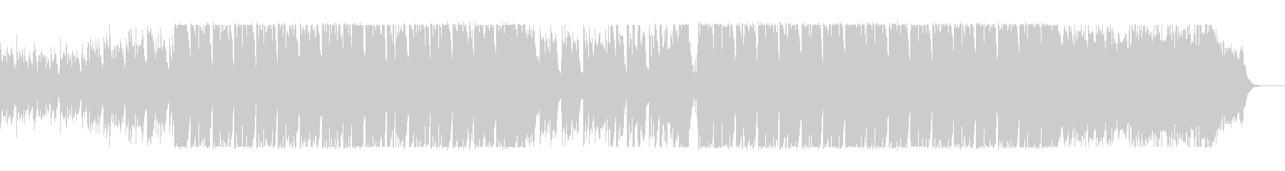 レトロな電子音系、80sポップスの未再生の波形