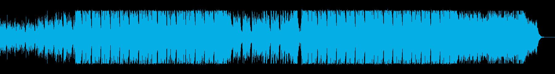 レトロな電子音系、80sポップスの再生済みの波形
