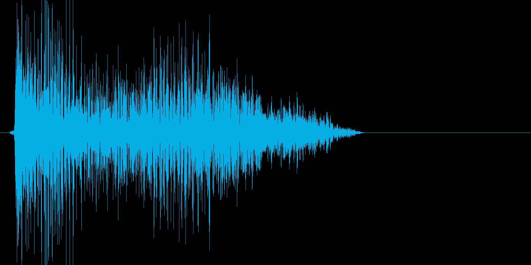 ぶおお(炎魔法を放ってるイメージ)の再生済みの波形